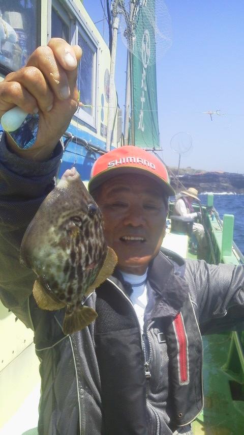 小網代・丸十丸のカワハギ釣り……