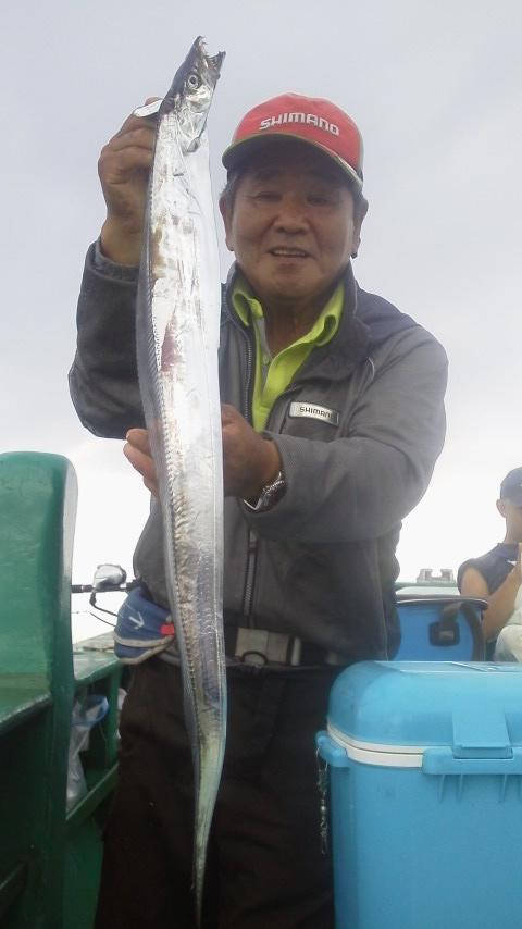 新安浦・長谷川丸のタチウオ釣りに……
