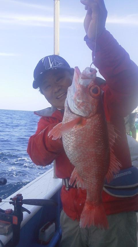高級魚…アカムツ釣りに…