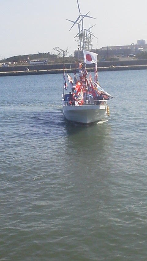 小旅行気分で…鹿島新港まで…