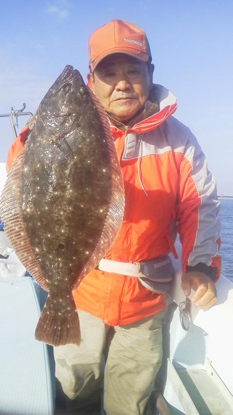 こうしてヒラメ釣りを楽しんできた…