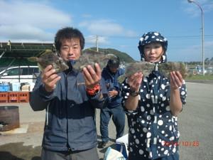 アマダイ釣りに…