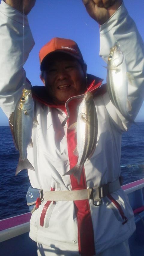 寒イサキ釣りに…
