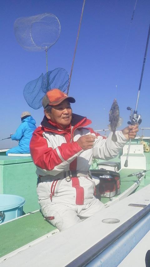 剱崎沖のカワハギ釣りに……
