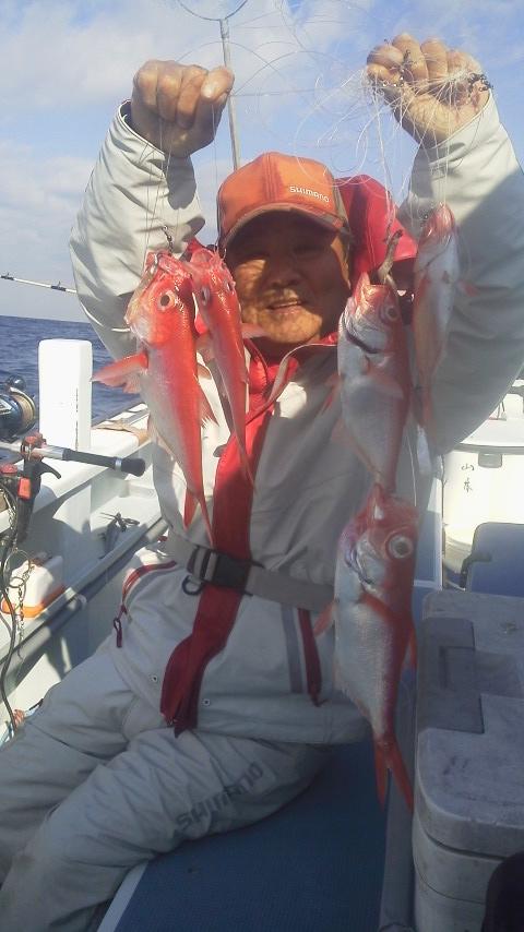 中深場の五目釣りです…