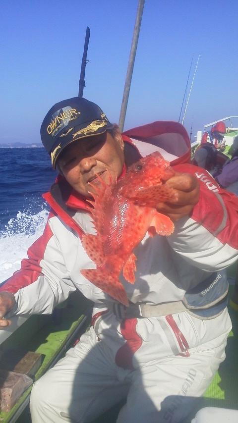 デカアマダイ釣りに…