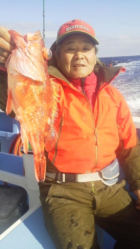 オニカサゴ釣りに行きましょう