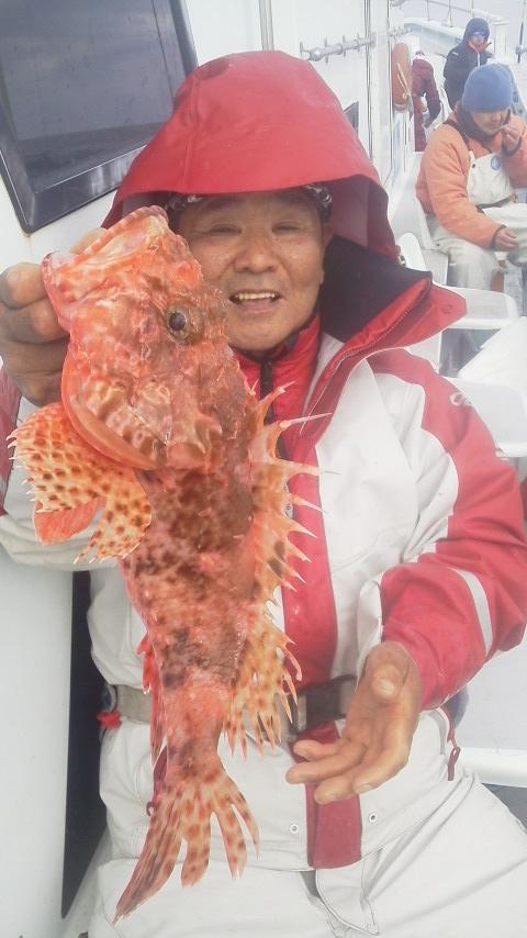 オナカサゴ釣りに…