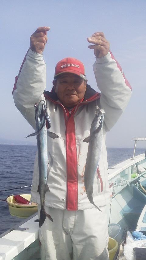 沖のコマセ五目釣り……