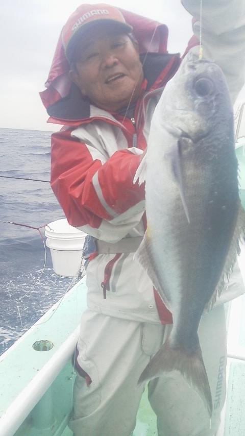 メダイ釣りに…