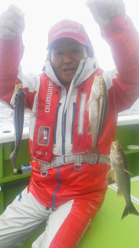 遠征イサキ五目釣りに…