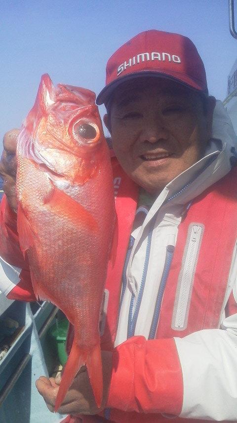 アコウダイ釣りに…