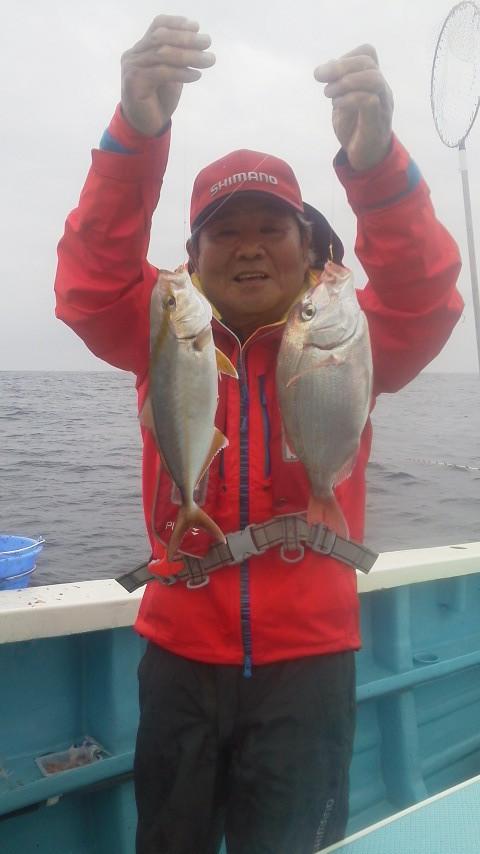 イサキリレーコマセ五目釣りに…