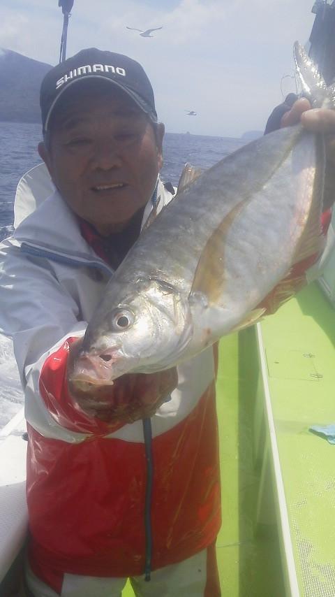 イサキ五目釣りに…