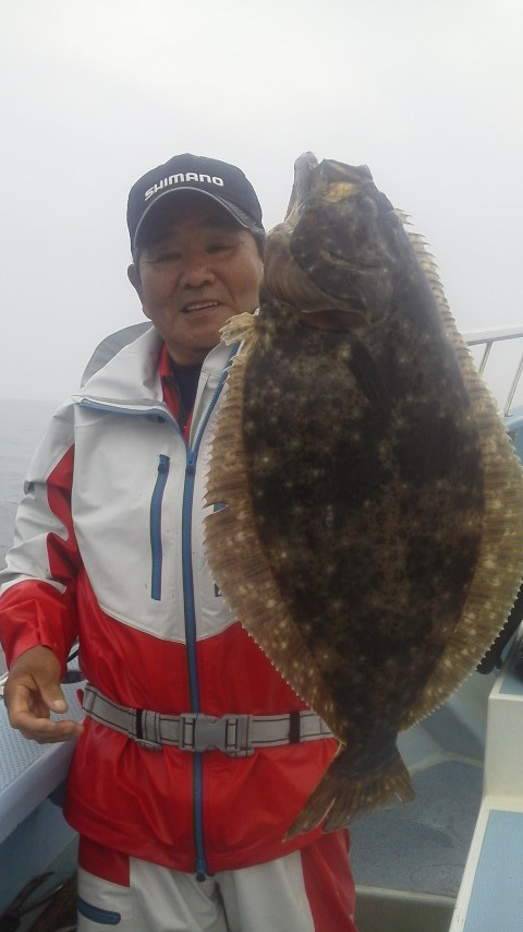 夏ヒラメ釣りに……