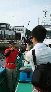 タチウオ釣りに……