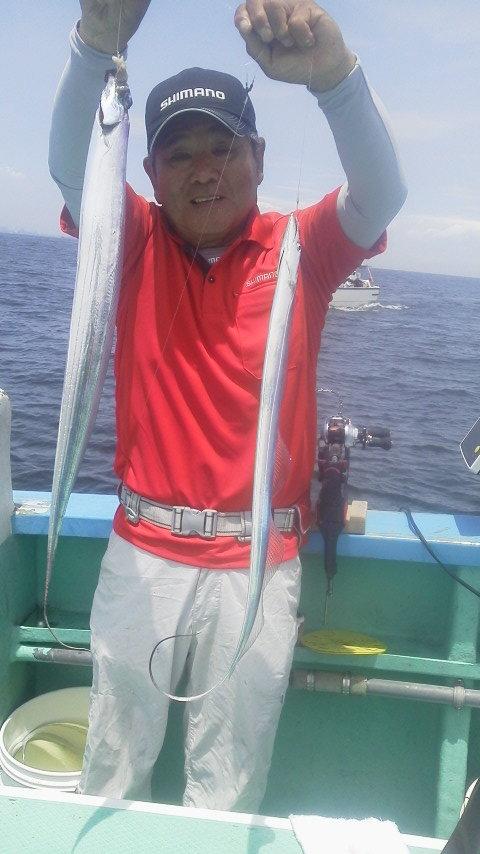リベンジのタチウオ釣りに〜