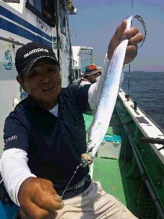 タチウオ釣りに…