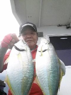 御蔵島…遠征五目釣りに…