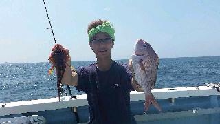キハダ&カツオ釣りに…