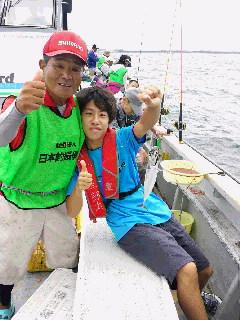 釣り体験教室に…