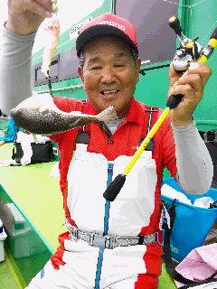 河豚釣りに……