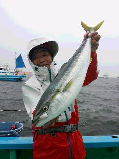 ワラサ&マダイ釣りに…