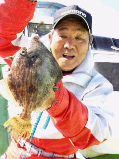 カワハギ釣りですが〜