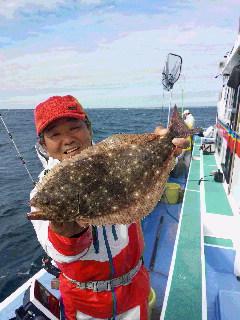 ヒラメ釣りですが…