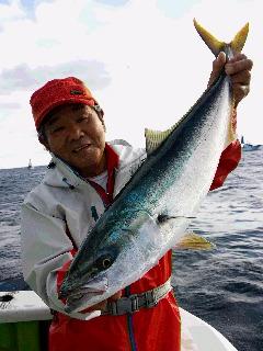 ワラサ釣りに…