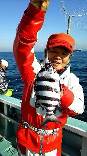 コマセイシダイ五目釣りに…