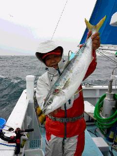 イシダイ五目釣りに…