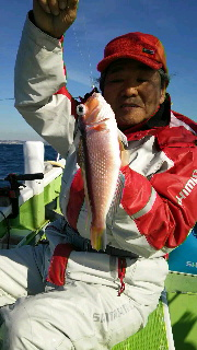 納竿で…アマダイ釣りに…