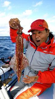 ヤリイカ釣りに…