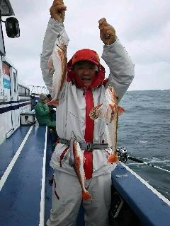 ホウボウ釣りに〜〜