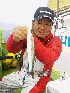 カマス釣りに……