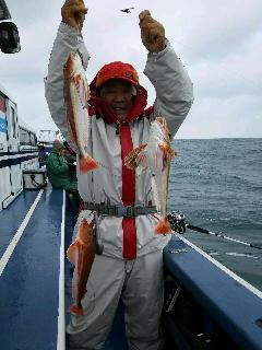 沖のライトウイリィー五目釣りに……