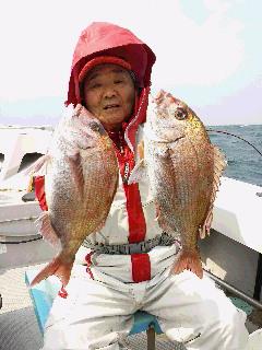 プレ乗っ込みマダイ釣りに…