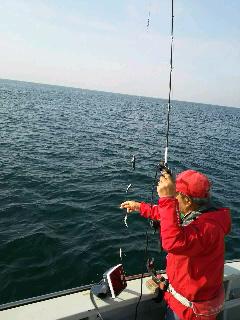 カサゴ&ヒラメ釣りに…
