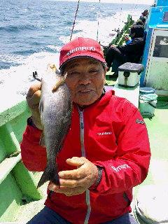 イサキ釣りに…