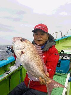 イサキ釣りに……