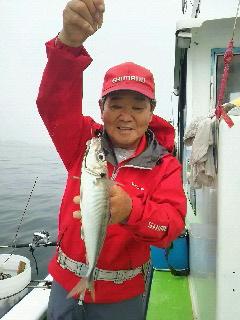 ビシアジ釣りに…