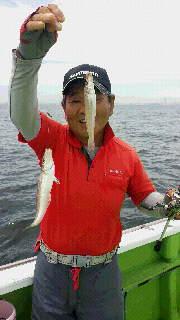 シロギス釣りに…