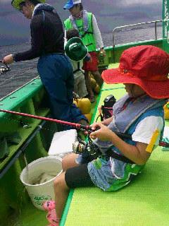 シロギス釣りの体験教室に……