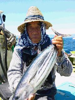 キハダマグロ釣り大会に…