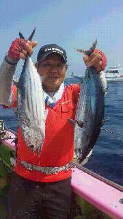 カツオ&キハダ釣りに…