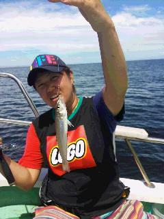 シロギス釣り大会に…
