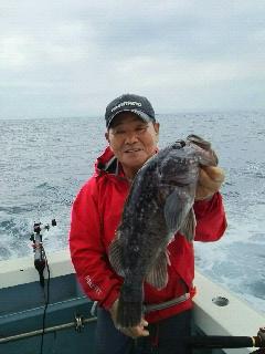 ヒラメ釣り大会に…