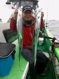 タチウオ釣り大会に!