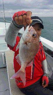 一つテンヤマダイ釣りに…